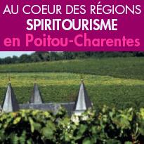 À la découverte <br>du Spiritourisme<br>en Poitou-Charentes