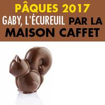 Pâques 2017<br>Gaby, L'écureuil<br>Par la Maison<br>Caffet