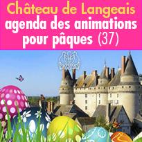 château de Langeais (37)<br>Une chasse<br>aux oeufs<br>pas comme les autres