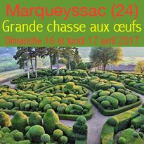 Grande chasse<br>aux œufs<br>aux jardins<br>de Marqueyssac (24)