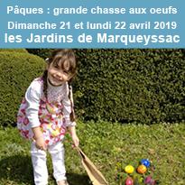 Marqueyssac<br>à Pâques<br>grande<br>chasse<br>aux oeufs