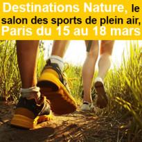 Salon des sports<br>de plein air<br>à Paris