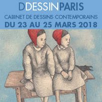 DDESSINPARIS<br>le cabinet<br>de dessins<br>contemporains