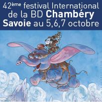 Festival International<br>de la BD<br>Chambéry Savoie<br>5,6,7 octobre