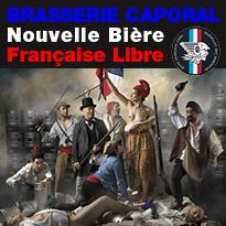 Caporal Nouvelle bière française à la libre fraîcheur