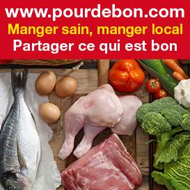 www.pourdebon.com manger sain manger local