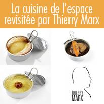 Thierry Marx prépare des recettes originales pour Thomas Pesquet