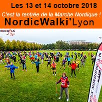 Marche<br>Nordique<br>à Lyon<br>Les 13 & 14 octobre