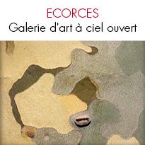 Écorces Galerie d'art à ciel ouvert <br>de Cédric Pollet