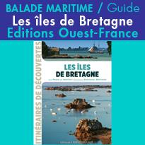 Carnet de bord<br>les îles de Bretagne<br>Editions Ouest France