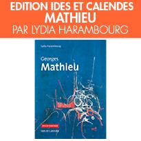Polychrome <br>Georges MATHIEU <br>par Lydia Harambourg