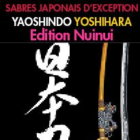 Un beau-livre<br>SABRES JAPONAIS D'EXCEPTION<br>ART ANCESTRAL<br>ET SECRETS D'UN GRAND MAÎTRE
