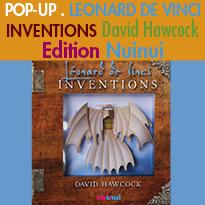 Pop-up<br>LEONARD DE VINCI<br>INVENTIONS<br>David Hawcock