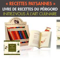 Livre<br>de recettes du Périgord<br>les Editions du curieux