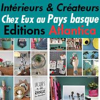 Edition Atlantica<br>chez eux<br>aux Pays Basque<br>Marie Lendrat