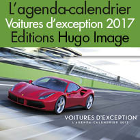 Voitures d'exception<br>L'agenda-calendrier<br>Voitures d'exception 2017