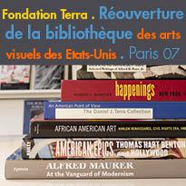 Paris 07<br>Réouverture<br>de la bibliothèque<br>de la Fondation Terra
