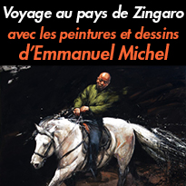 Carnets de croquis<br>Voyage au pays de Zingaro<br>d' Emmanuel Michel