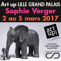 Dernières sculptures<br>de Sophie Verger<br>à Art up 2017 Lille