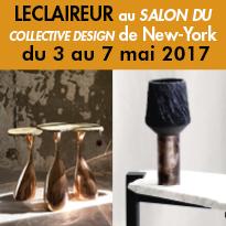 L'ECLAIREUR<br>expose<br>au Collective Design Fair<br>de New-York<br>jusqu' au 7 mai 2017