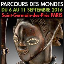 Du 6 au 11 septembre 2016<br>Parcours des mondes<br>Paris