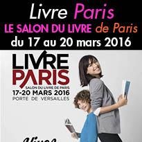 Salon du livre<br>de Paris<br>