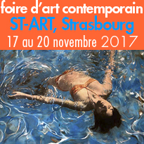 Salon ST-ART<br>du 17 au 20 novembre<br>Strasbourg (67)