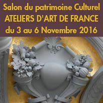 Salon du patrimoine Culturel<br>Du 3 au 6 novembre<br>au Carrousel du Louvre<br>Paris 75001