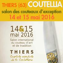 Thiers (63)<br>Coutellia<br>salon<br>des couteaux d'exception