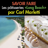 Les pâtisseries<br>« Long Beach »<br>par Carl Marletti