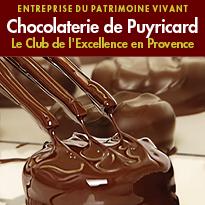 La Chocolaterie de Puyricard<br>le premier artisan chocolatier<br>à avoir reçu le label EPV