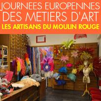 1er et 2 avril 2017<br>'En Scène<br>'les Métiers d'Art<br>'au Moulin Rouge