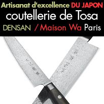 Artisanat d'excellence<br>du japon<br>la coutellerie<br>de Tosa