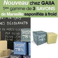 Savoir-faire<br>savon de Marseille<br>par Gaiia