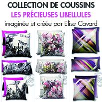 collection de coussins <br>