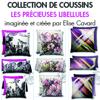 collection de coussins <br>