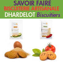 Savoir-faire<br>Dhardelot Biscuitiers<br>en côte d'Opale