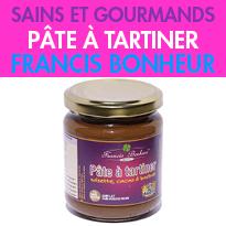 Noisette, cacao et baobab<br>Pâte à tartiner<br>de Francis Bonheur