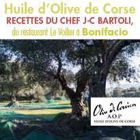 L'Huile d'Olive de Corse<br>rondeur, douceur, onctuosité
