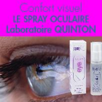Spray oculaire<br>Hygiène Oculaire<br>Laboratoires QUINTON