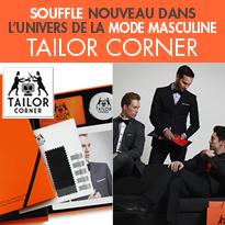 le coffret Tailor Corner<br>une once d'originalité<br>dans un écrin d'élégance<br>pour les hommes