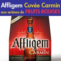 Le nouveau brassin d'exception<br>Affligem<br>cuvée carmin