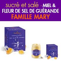 Nouveau<br>Miel crémeux<br>fleur de sel de Guérande