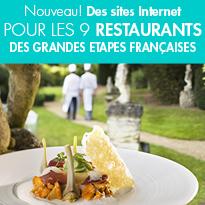 Les «&nbsp;Grandes Etapes Françaises&nbsp;»<br> lancent  9 sites internet<br>