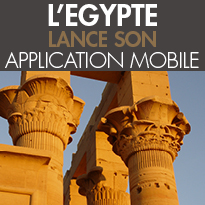 L'EGYPTE<br>Lance Son Application Mobile