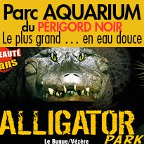 le Parc AQUARIUM<br>du Périgord Noir(24)<br>fête ses 25 ans