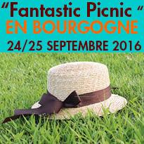Les 24 et 25 septembre<br>« Fantastic Picnic »<br>Fête de la gastronomie<br>en Bourgogne (21)