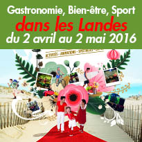 Printemps des Landes<br>Plus de 300 animations<br>du 2 avril au 2 mai 2016