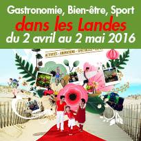 Printemps des Landes<br>Plus de 300 animations<br>du 2 avril au 2 mai 2016