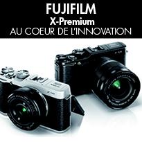 lancement <br>des appareils hybrides<br>X-M1 et X-A1,<br>FUJIFILM